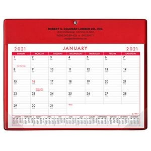 Calendar Doodle Pad w/ Metal Hanging Grommet & Greeting Page - Stock Colors