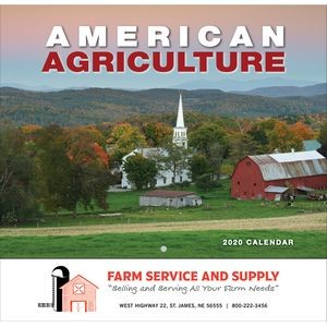 2020 American Agriculture Wall Calendar - Stapled